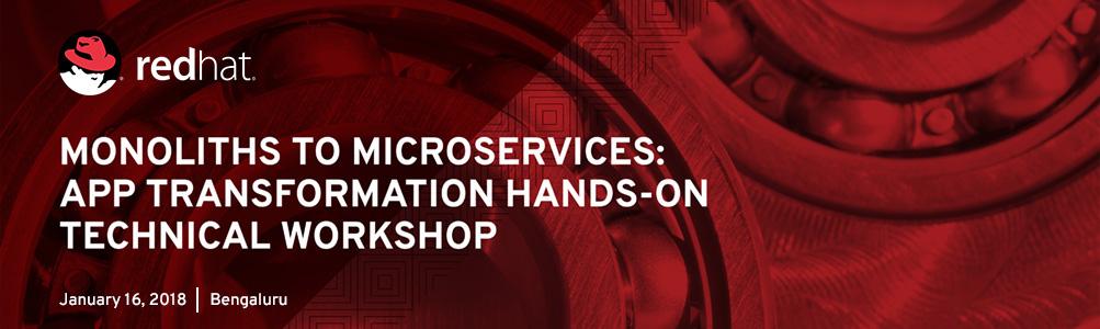 Microservices Workshop Bengaluru