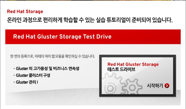 Red Hat Storage test drive Camapign